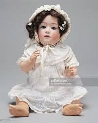 germany hair cuts character baby doll with cut head and real hair moving glass eyes