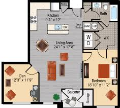 apartments 1 bedroom one bedroom apartment with den playmaxlgc com