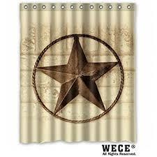 amazon com creative bath western texas star shower curtains 60
