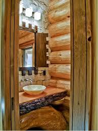 cabin bathroom ideas small log cabins bathroom ideas houzz small cabin bathroom ideas