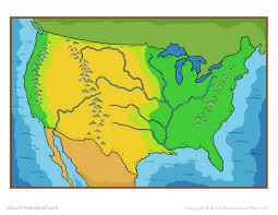 Map Of The United States In Color maps usa map color map of states visited us state map usa map