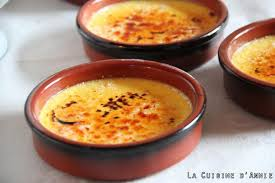 recettes cuisine recette crème brulée la cuisine familiale un plat une recette