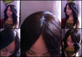 center part weave hairstyles hair by tolan