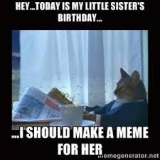 Funny Sister Birthday Meme - funny birthday wishes sister kappit