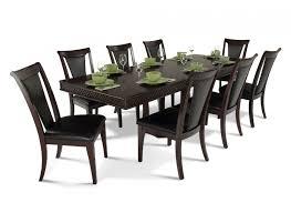 bobs furniture kitchen table set attractive 9 pcs dining room set number 5 9 dining set bobs