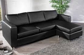 sofa kunstleder funktionales ecksofa bradford kunstleder schwarz sofa mit hocker