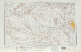 Map Of Phoenix by Phoenix Topographic Map Sheet United States 1954 Full Size