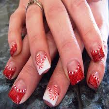 new xmas nail designs pictures