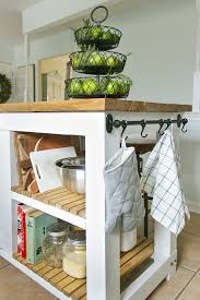kitchen islands with storage diy kitchen island with trash storage shades of blue interiors