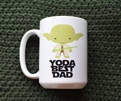 yoda best dad mug
