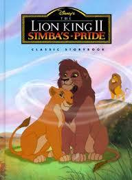 lion king ii simba u0027s pride classic storybook disney wiki