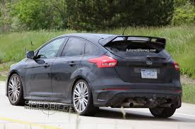 2016 ford focus rs spied testing in the u s