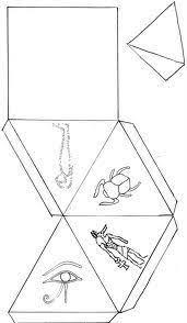 imagenes egipcias para imprimir pirámides egipcias de papel para imprimir egypt crafts