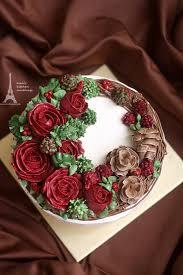 Christmas Cake Decorations Flowers by Evan U0027s Kitchen Ramblings