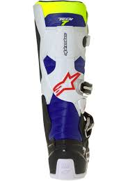 motocross boots for sale australia alpinestars white fluorescent navy tech 7 mx boot alpinestars
