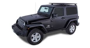 grey jeep wrangler 2 door rhino rack pioneer platform unassembled 52x56 2 door ja8547