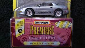 matchbox mitsubishi 98 pontiac ram air firebird formula 1 64 diecast matchbox world
