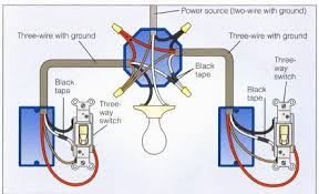 wiring a 3 for how to wire a three way light switch diagram