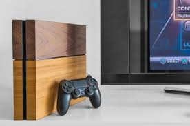wish your ps4 was made out of wood well you re in luck