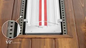ceiling patio heater how to flush mount an infratech w series or wd series heater youtube