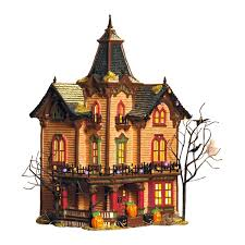 Victorian Houses by Amazon Com Department 56 Snow Village Halloween Victorian House