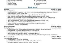 Pipefitter Resume Samples by Pipeline Welder Resume Example Myperfectresume Pipe Welder Resume