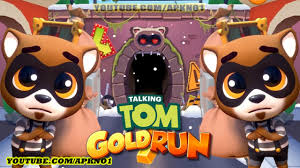 talking android talking tom gold run android gameplay the raccoon ep