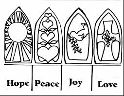 fantastic advent candle coloring page with advent wreath coloring