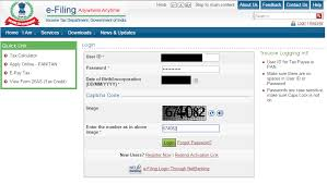 how to register on the income tax department website cleartax
