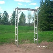 wedding arch kit white birch wedding arch kit ebay