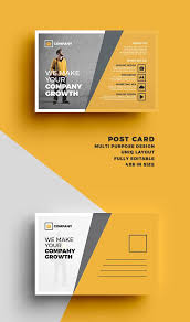 38 best print images on postcard template postcard