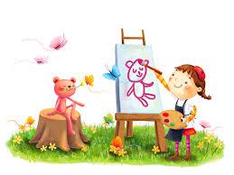 Wallpaper Children Wallpapers Child Park Children Cute Feeling Flower Heart Kiss
