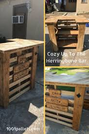 pallet bar hundreds of bar ideas made out of pallets 1001 pallets