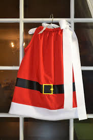 girls mrs santa claus christmas pillowcase by boogerbearpunkinpooh