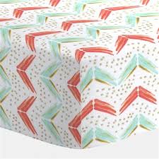 the 25 best ideas about coral crib sheet on pinterest fitted