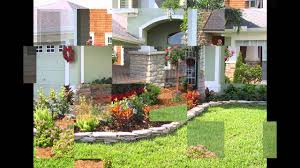 Front Of House Landscaping Ideas by Home Landscape Ideas For Small Front Yard Youtube