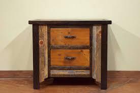 nightstand diy rustic nightstand rustic grey nightstand rustic