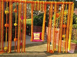 Decorative Trees In India 137 Best Marigold Decor Images On Pinterest Indian Weddings