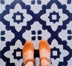 casablanca blue vinyl flooring moroccan vinyl floor tiles for