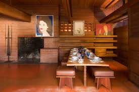 Frank Lloyd Wright Home Interiors The George Sturges A Rare Frank Lloyd Wright House For Sale