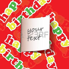 birthday card flyer or cover design royalty free cliparts