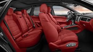 Porsche Panamera Red Interior - porsche macan stuttcars com porsche macan pinterest