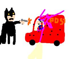 batman speeding ticket