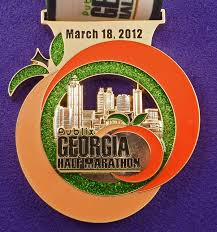 thanksgiving atlanta half marathon gallery category georgia image atlanta half marathon medal 2010