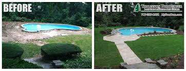 Inground Pool Patio Designs Cool Pool Patio Installation In Lancaster Pa Tomlinson Bomberger