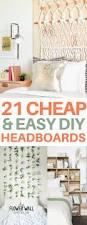 Diy Bedroom Headboard Ideas 21 Unique Diy Headboard Ideas To Transform Your Bedroom Diy