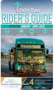 Palm Beach State Map Palm Tran Bus Service