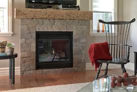 natural stone veneer popular choice for fireplace project