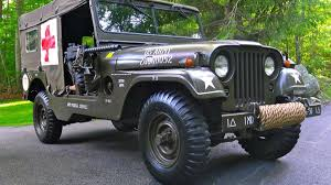 kaiser jeep for sale 1955 willys m170 jeep frontline ambulance for sale on ebay autoweek