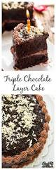 triple chocolate layer cake cook with manali